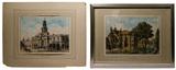 Thomas Hosmer Shepherd (English, 1793-1864) Watercolors on Paper