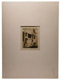 Charles Meryon (French, 1821-1868) 'La Rue des Mauvais Garcons' Etching
