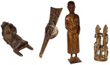 African Carved Wood Assortment