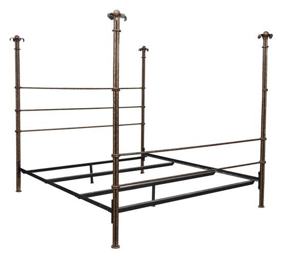 Gabrielli Wrought Iron King Size Bed