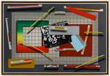 Joseph Ramsauer (American, b.1943) 'April 25, 1952 No.1' Mixed Media on Canvas