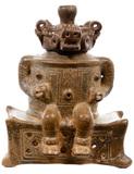 Pre-Columbian Chorotega Style Pottery Effigy Vessel