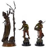 (After) Georges Van Der Straeten (Belgian, 1856-1928) Bronze Sculpture