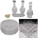 Villeroy & Boch and Stuart Glass Tableware Assortment
