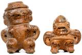 Pre-Columbian Style Nicoya Guanacaste Pottery Figures