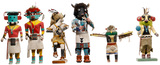 Native American Indian Kachina Carved Wood Assortment