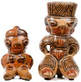 Pre-Columbian Style Nicoya Guanacaste Figures