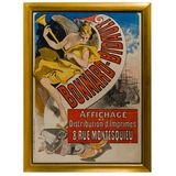 (After) Jules Cheret (French, 1836-1932) 'Bonnard-Bidault' Lithograph Poster