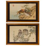 Unknown Artist (Asian, 20th Century) Watercolors on Paper