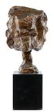 George Spaventa (American, 1918-1978) 'Grotesque Head' Bronze Sculpture
