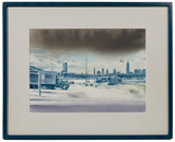 Jonathan Janson (American, b.1950) 'Clouds' Watercolor
