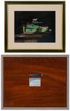 Deborah Deichler (American, b.1948) 'Tart with Green Drawers' Pastel on Paper