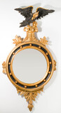 La Barge Federal Style Wall Mirror
