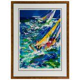 LeRoy Neiman (American, 1921-2012) 'High Seas' Serigraph