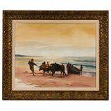 Tom Darro (American, b.1946) Oil on Canvas Board