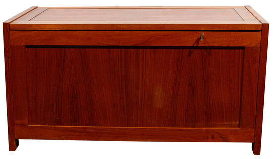Randers Mobelfabrik for Illums Bolighus Danish Modern Teak Blanket Chest