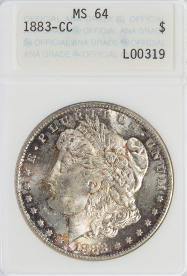 1883-CC $1 MS-64 ANA