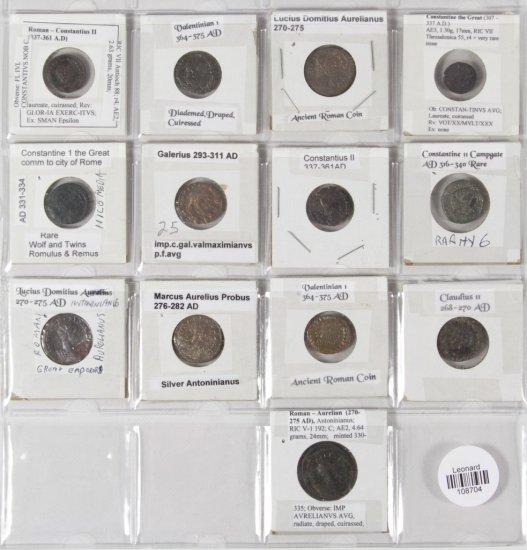 Ancient: Coin Assortment
