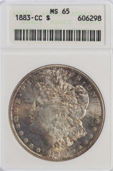 1883-CC $1 MS-65 ANACS