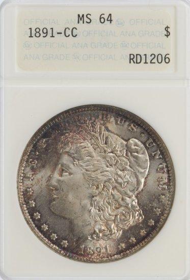 1891-CC $1 MS-64 ANA