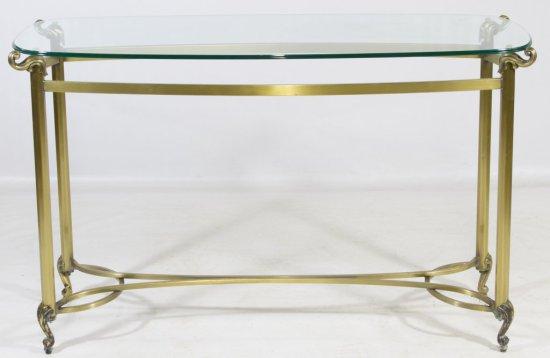 Brass Sofa Table