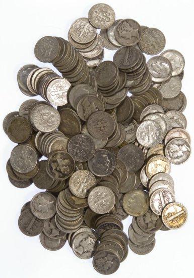 Mercury / Roosevelt 10c Silver Assortment