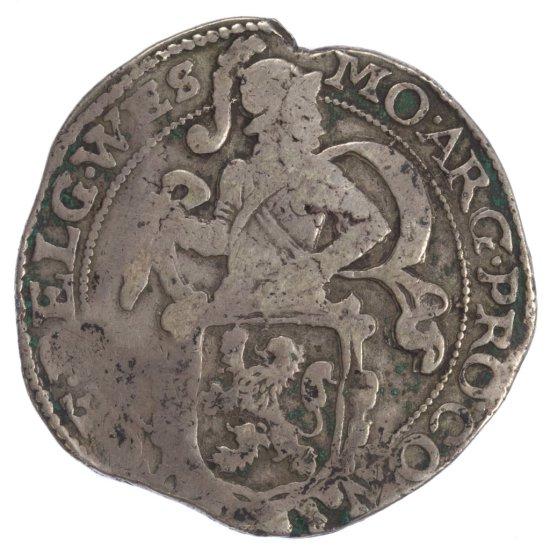 Netherlands / Dutch: 1643 Silver Leeuwen Daalder