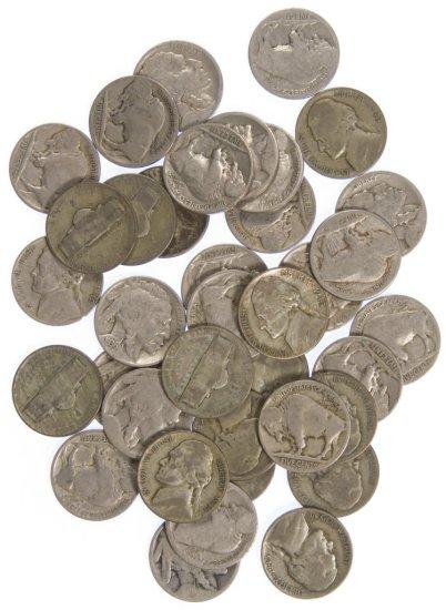 Buffalo / War Nickel 5c Assortment