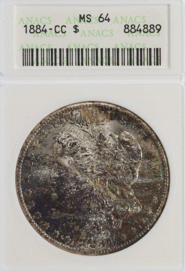 1884-CC $1 MS-64 ANACS