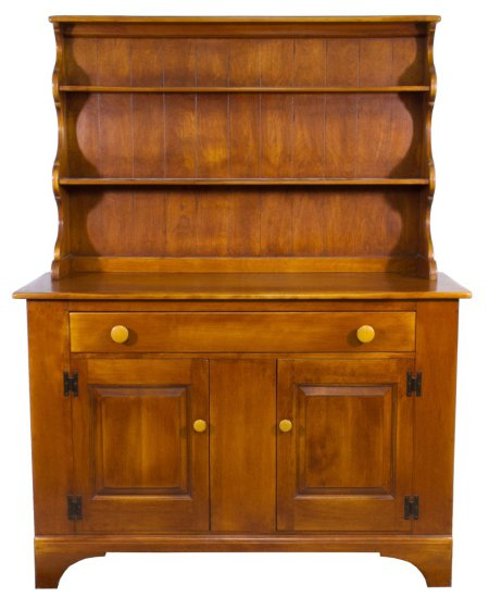 Early American Style Maple Hutch by Cushman
