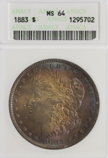 1883 $1 MS-64 ANACS