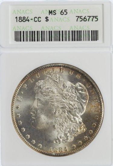 1884-CC $1 MS-65 ANACS