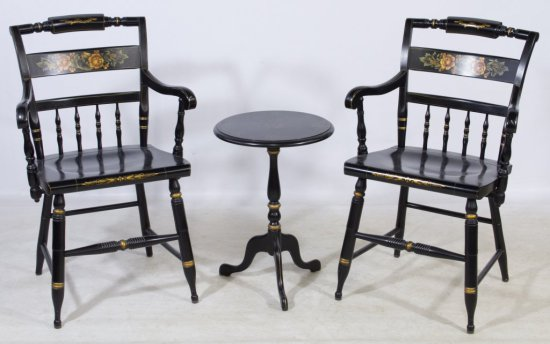 Hitchcock Chairs and Table