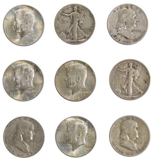 US 50c Coin Assortment
