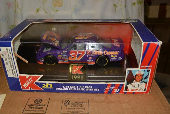 1995 Racing Champions 1/24 Die Cast Bank