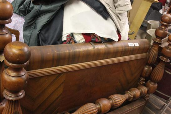 Cannon Ball Poster Bed From 1930's
