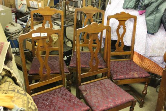 Set of 6 1920's Chairs