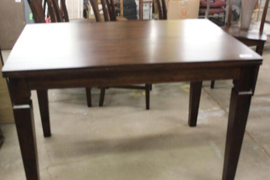 LARGE WOODEN DINNING TABLE