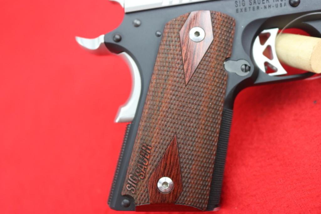 Lot: Sig Sauer 1911 Ultra Compact  45 ACP Pistol | Proxibid Auctions