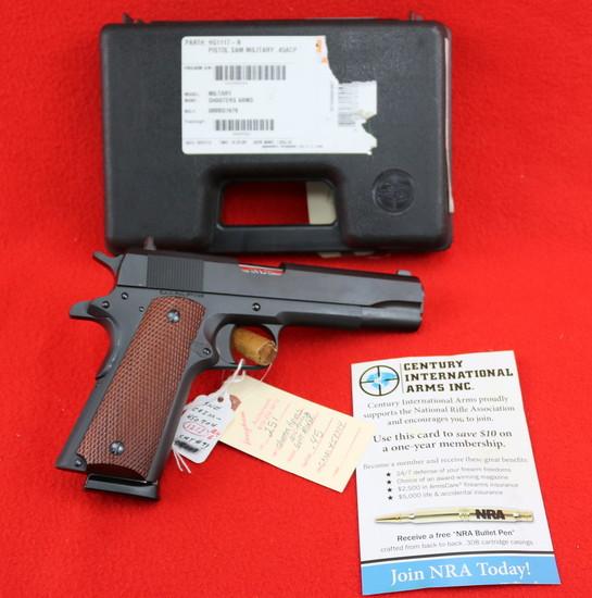 Shooters Arms Man. .45 Govt. Model Pistol .45ACP