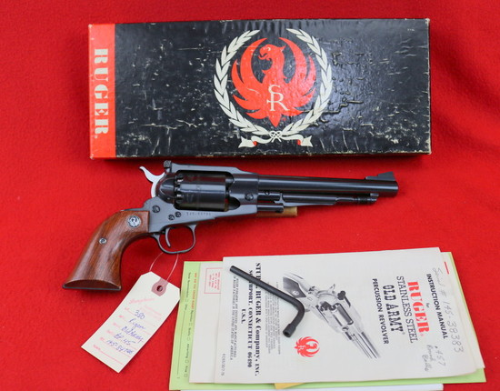 Ruger Old Army Black Powder Revolver .45 Cal.