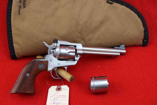 Ruger New Model Single Six Revolver  .22/.22 Mag.