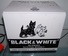 Animated Black & White Blended Scotch Whiskey Electric Puppy Pop Up Box