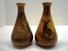 Souvenir Herkimer NY Vases, an Indian & Moose