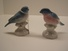 Made In Western Germany Pair of Bird Figurines