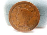 1852 One Cent Eagle