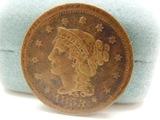 1853 One Cent Piece