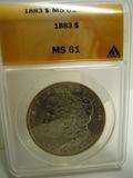 1883 MS61 Silver Dollar