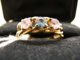 10 KT Gold Mother's Ring
