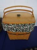 1995 Longaberger Sewing Basket